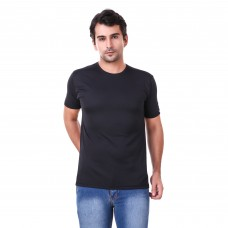 Black Regular Dri Fit Round Neck Tshirt