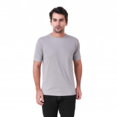 Grey Regular Dri Fit Round Neck Tshirt