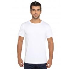 White Regular Dri Fit Round Neck Tshirt