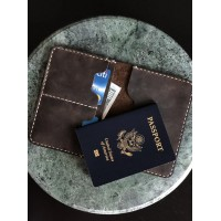 The Travel Story Passport Leather