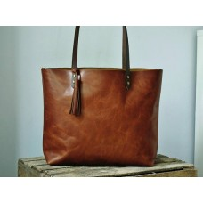 The Ren Leather Tote Bag