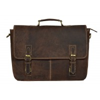 The Classio Leather Laptop Bag