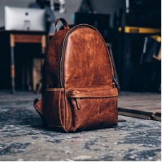 The Flash Leather Backpack
