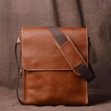 The Tourist Leather Messenger Bag