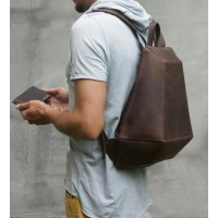 The Stranger Leather Backpack