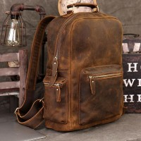 The Blaze Leather Backpack