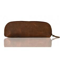 Leather Pencil Case Multi-pouch